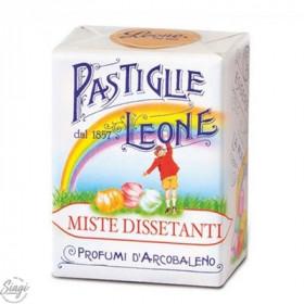 PASTILLES CARTON MIX FRUITS LEONE 30GR