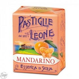 PASTILLES CARTON MANDARINE LEONE 30GR
