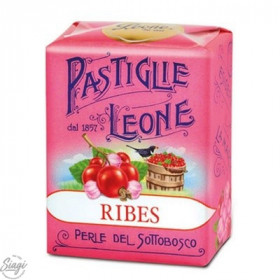 PASTILLES CARTON GROSEILLE LEONE 30GR