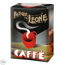 PASTILLES CARTON CAFE LEONE 30GR