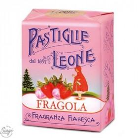 PASTILLES CARTON FRAISE LEONE 30GR