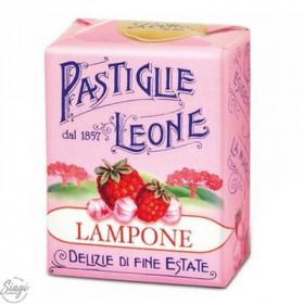 PASTILLES CARTON FRAMBOISE LEONE 30GR