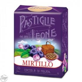 PASTILLES CARTON MYRTILLE LEONE 30GR