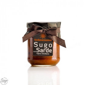 SAUCE SARDINES ET FENOUIL 200 G SICILIA T.