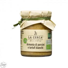 Crème cèpes et truffes