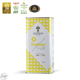 Huile d'olive fruitée Bidon 5 litres