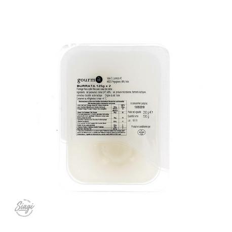 BURRATINA BARQUETTE 2* 125 G GIOIELLA