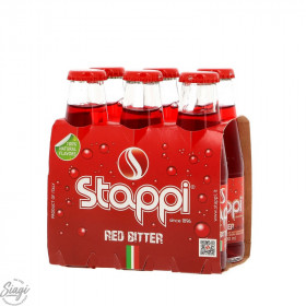 BITTER SODA 6*10 CL STAPPI
