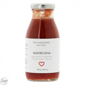 SAUCE POP AMATRICIANA TOMATE BACON 250G