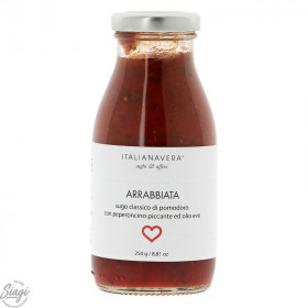 SAUCE POP ARRABBIATA TOMATE PIMENT 50G