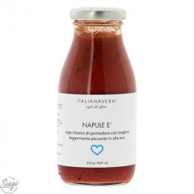 SAUCE POP NAPULE TOM. ORIGAN PIMENT 250G