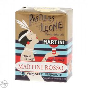 PASTILLES CARTON MARTINI ROSSO LEONE 30GR