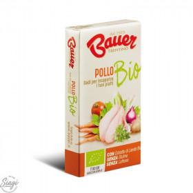 BOUILLON CUBE BIO POULET 6*10 G BAUER