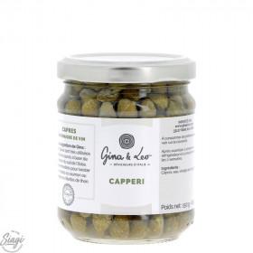 CAPRES AU VINAIGRE GINA&LEO 150 G
